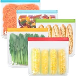 Reusable Storage Bags 5 Pack